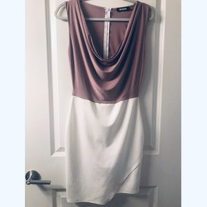 Cowlneck Missguided Midi Dress
